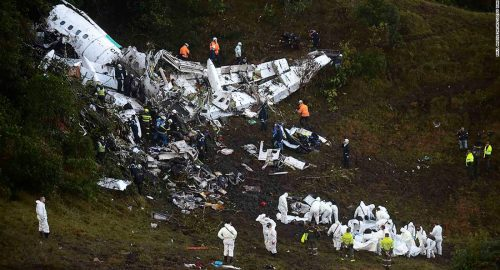 Lamia crash: a reminder on everyone's role in flight safety