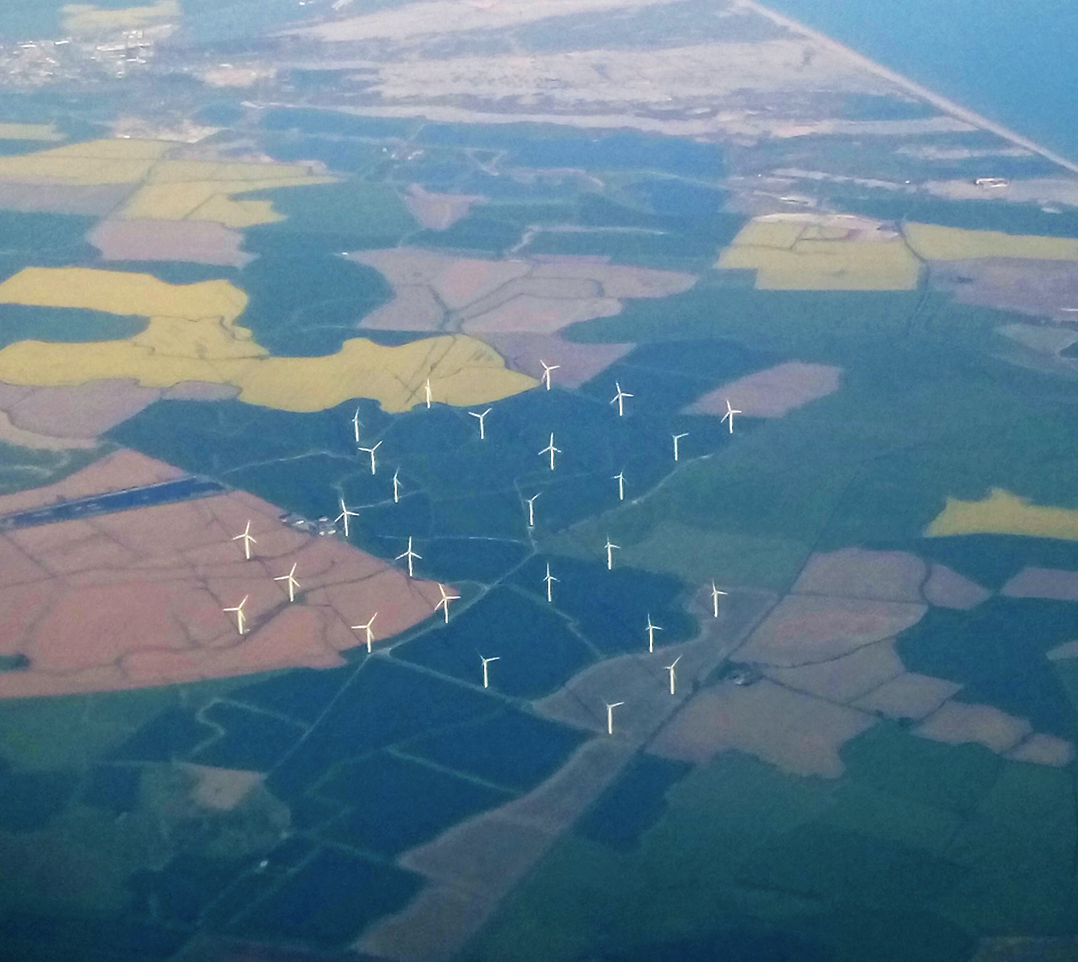 windfarm aerial view v2