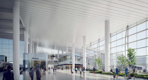 Make terminal operations more efficient for both passengers and airports
